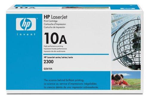 New Genuine HP Q2610A / HP 10A / Black Laser Toner, HP LaserJet 2300 Series Printers