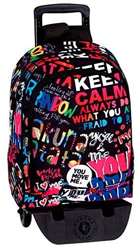 Montichelvo Montichelvo Detach.Trolley A.O. Pr You & Me Reise-Henkeltasche, 43 cm, Mehrfarbig (Multicolour)