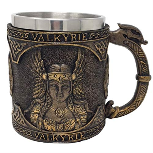 Pacific Giftware Wikinger Krug Valkyrie