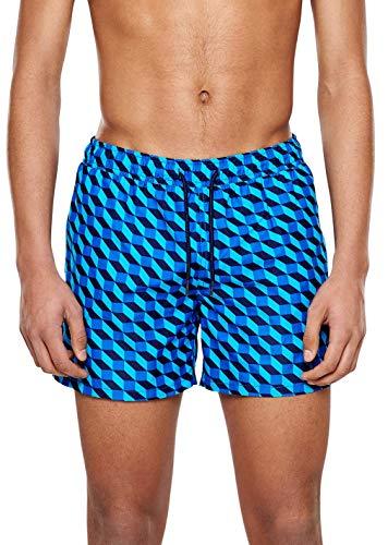 Happy Socks – Farbenfrohe, modisch gemusterte Badehosen für Männer, Filled Optic, L