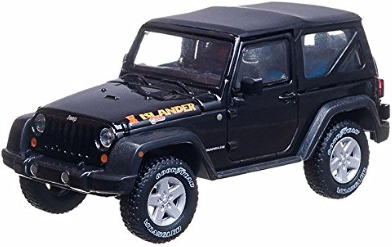 2010 Jeep Wrangler Islander 1 43 Black  Greenlight Diecast