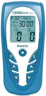 Queraltó Tens Eco Basic Ionto - Electro estimulador Portátil, Azul, 14 x 6.4 x 2.8 cm