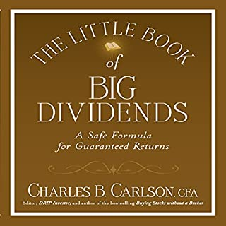 The Little Book of Big Dividends audiobook cover art