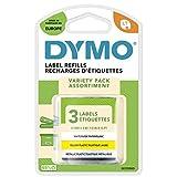 Dymo S0721790 - Etiquetas, 3 cintas