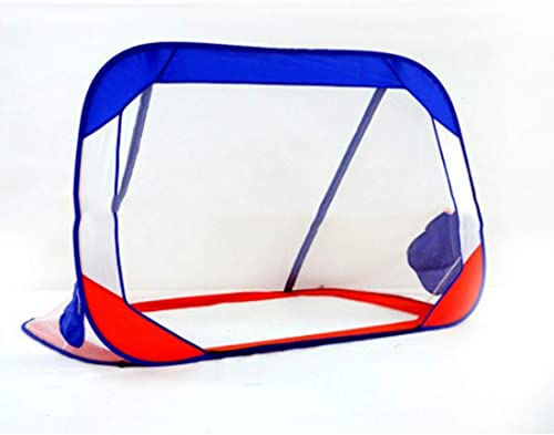 ¡envío gratis! UICICI Objetivo de de de fútbol Plegable para Adultos Hogar de Adultos para Uso Doble al Aire Libre en Interiores Mini Goals Sandy Bowl Flexibility Assembly Simple Goal ( Color   2 )  el mas reciente
