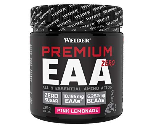WEIDER Premium EAA Zero 325 g (25 Portionen), Pink Lemonade, Essentielle Aminosäuren, Fitness