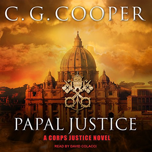 Papal Justice audiobook cover art