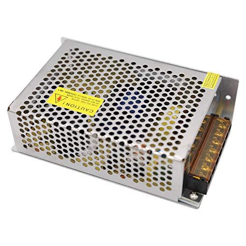 Daxpoo Tira De Led Fuente De Alimentación 24v Voltio 200W Raya Transformador Iluminación Controlador DC Adaptador (PS200-DP24)