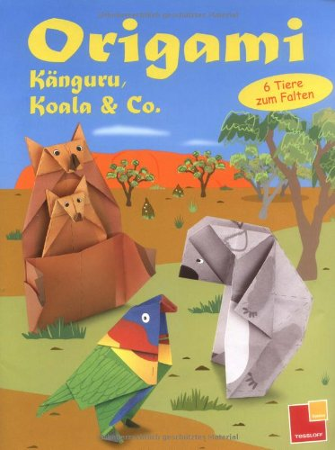 Origami Känguru, Koala & Co. 6 Tiere zum Falten