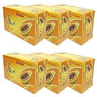 シルカ パパイヤソープ 135g Silka Papaya Soap (6個セット)
