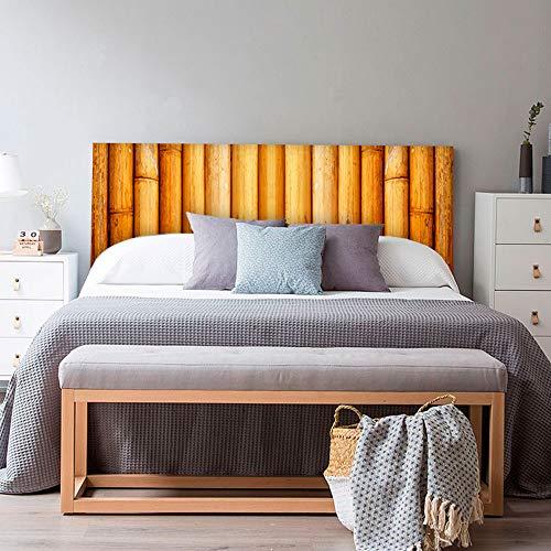 setecientosgramos Cabecero Cama PVC | Bambú | Varias Medidas | Fácil colocación | Decoración Dormitorio (150x60cm)