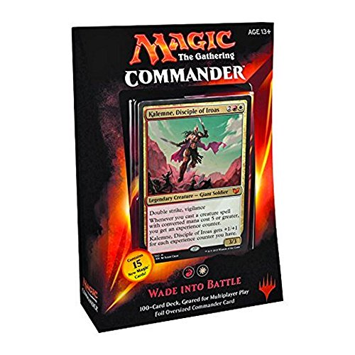 MTG Commander 2015 Edition Magic the Gathering - Wade Into Battle Red White Deck New Sealed by Magic: the Gathering