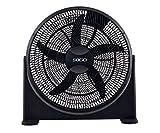 Sogo VEN-SS-21100 - Ventilador de suelo industrial, 20 Pulgadas, 125W, color negro