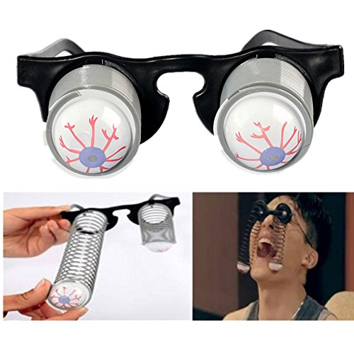 Lucky Shop1234 Halloween Costume Party Joke Toy Scary Horror Slinky Pop Out Eye Gag Droopy Eyes Glasses 6 Pairs