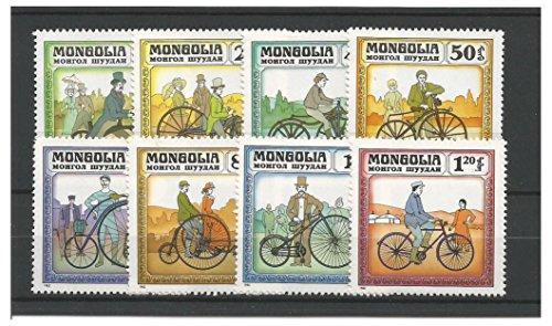 Francobolli da Collezione - 1982 Storia della Nuovo bicicletta Insieme di francobolli/Mongolia SG1430-1437