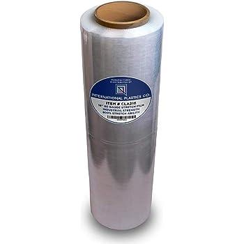 Stretch Film Wrap Clear 5 Inch x 700 Feet 115 Gauge 36 Rolls Heavy Duty Plastic Packing Wrap Rolls