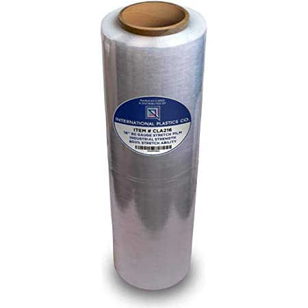 6 x Palette Stretch Shrink Wrap film alimentaire Rouleaux 250x500mm 17Mu Strong Heavy Duty