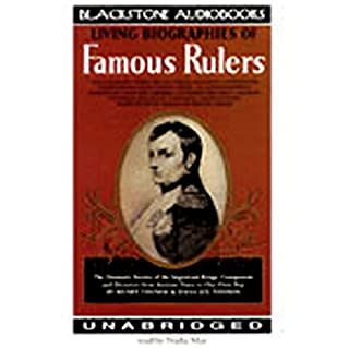 Living Biographies of Famous Rulers audiobook cover art