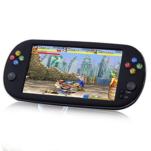DZTIZI Consola De Juegos Portátil, Juegos Retro 7 Pulgadas 16 GB Consolas De Videojuegos Portátiles con Cámara Nueva Versión