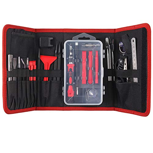 COLFULINE 137 in 1 Set Cacciaviti di Precisione, Cacciaviti Magnetici Professionali, Kit di Cacciavite Portatile per Riparazione di Orologio, Occhiali, iPhone, iPad, Laptop, Tablet, Elettronica ecc