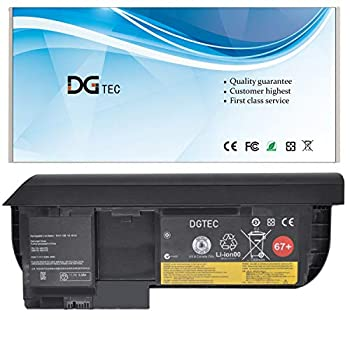 DGTEC 67+ Laptop Battery Replacement for ThinkPad  X220 Tablet  X220T  X230 Tablet  X230T Series 45N1079 45N1078 42T4880 45N1075 42T4882 42T4881 45N1077 0A36317  10.8V/11.1V 63Wh