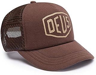 DEUS EX MACHINA ( デウス エクス マキナ ) / メッシュキャップ 帽子 CAP / JERSEY SHIELD TRUCKER - SADDLE BROWN / DMF77929