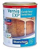 Blanchon Vernis EXP toutes boiseries chene clair satiné interieur exterieur 1 litre