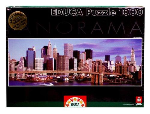 Educa - 13437 - Puzzle Adulte Panorama 1000 pièces - Skyline New York