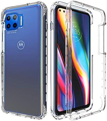 Motorola One 5G Case Moto One 5G UW Moto G 5G Plus Phone Case AMENQ Heavy Duty Shock Proof Protective product image