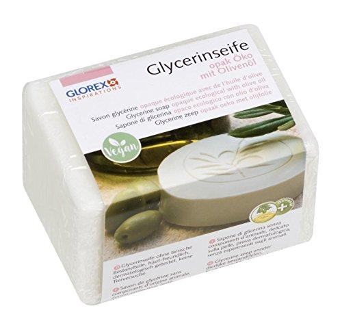 GLOREX 6 1600 150  Glycerin-Seife Öko 250g mit Olivenöl opak