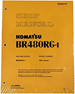 Komatsu BR480RG-1 Mobile Crusher Workshop Repair Manual