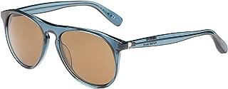 Polaroid Oval Blue Unisex Sunglasses - PLP 0101 YF9/2P-54-18-145