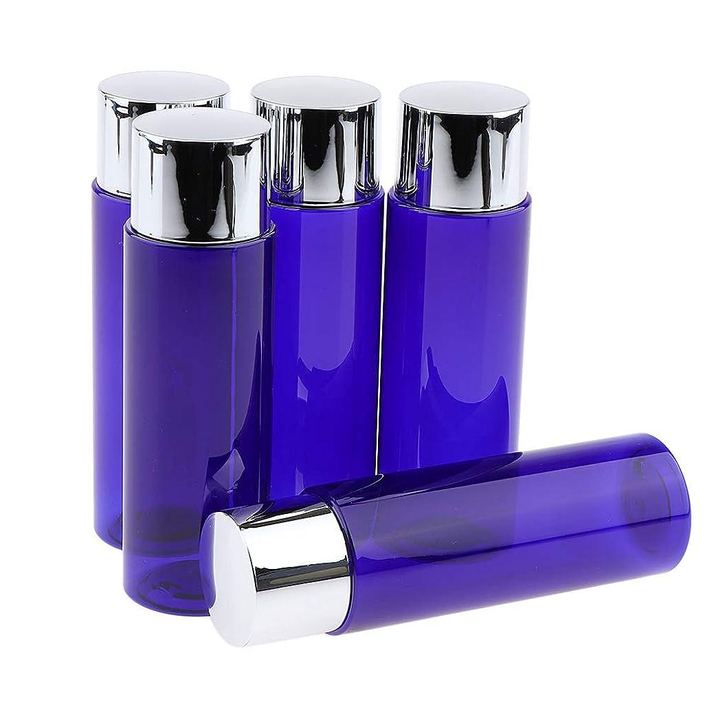 冷酷な不実騒乱B Blesiya 5本 コスメ 詰替え容器 メイクアップボトル クリーム ローション 旅行小物 3サイズ選べ - 100ML