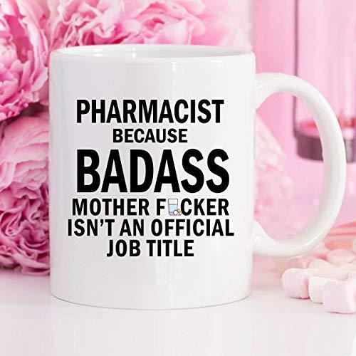 DKISEE Taza de té para farmacéutico, regalo farmacéutico, taza de café, té, café, café, té, regalo, estudiante de farmacia, regalo de farmacia, taza de té y café, técnica de farmacia