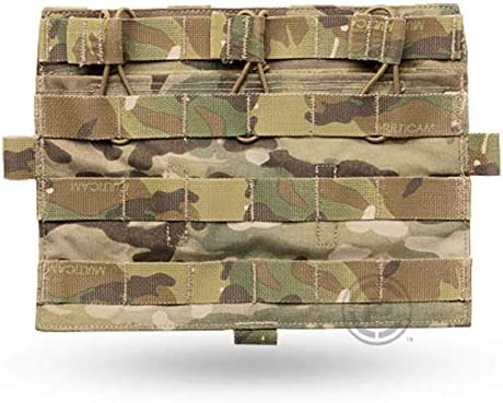 CRYE PRECISION AVS Detachable Flap Flat Mag Pouch Multicam Holds 3 Mags product image