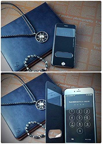 『isp iPhone 6 Plus / 6s Plus 開閉式 スリーブケース + ispロゴ入りオリジナルクロスセット ブラック』の8枚目の画像