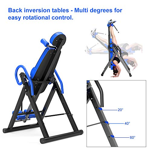 Yoleo Gravity Inversion Table