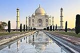 WXLSL Puzzles Taj Mahal Paisaje Puzzles De Madera Adultos 1000 Piezas Puzzles Paisaje Mundialmente Famoso Puzzles Educación Juguetes Niños Niños Regalos
