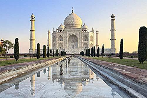 s Taj Mahal Paisaje s De Madera Adultos 1000 Piezas s Paisaje Mundialmente Famoso s Educación Juguetes Niños Niños Regalos