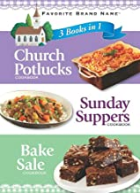3 Books In 1: Church Potlucks, Sunday Supper, and Bake Sale (3 in 1 Cookbooks)
