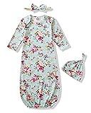 Baby Gowns Newborn Girl Nightgown Infant Sleep Gown Baby Sleepers Baby Girls' Nightgown Pea Green