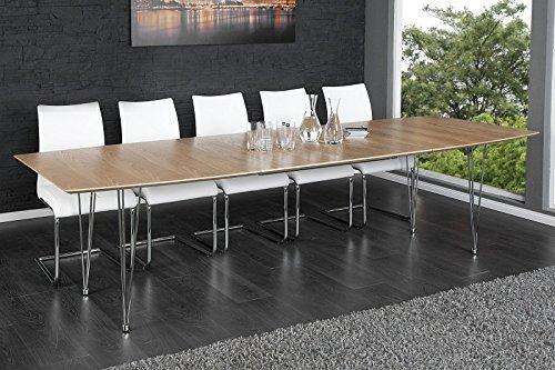 II-Design Tavolo da pranzo  Continental  legno allungabile