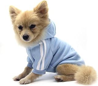 QiCheng&LYS Hundemantel Hund Hoodies Kleidung, Pet Puppy Katze Niedlicher Baumwoll Warm Hoodies Coat Pullover