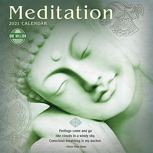 Meditation 2021 Wall Calendar