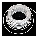 Conector de tubo 1/4' 3/8' 10 m de tubería de PE / 20m flexible blanca de fontanería de manguera de filtro de conectores for agua del RO Sistema acuario de ósmosis inversa Kit de accesorios de riego p