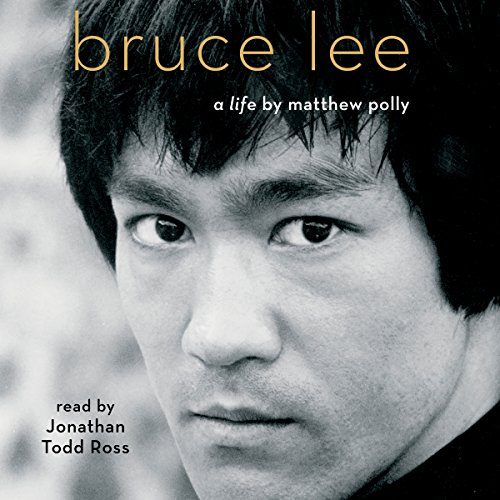 Bruce Lee audiobook cover art