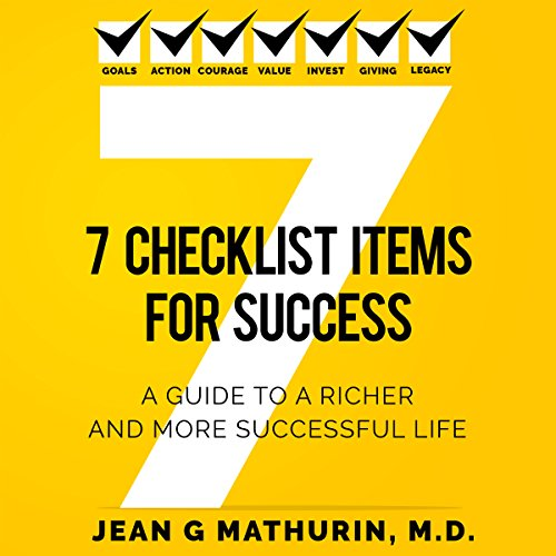 7 Checklist Items for Success audiobook cover art