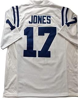 SandaBaby Men's Daniel Jones Jersey #17 Duke American Football Jerseys