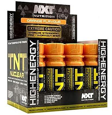 NXT Nutrition TNT Nuclear Shots 12 x 60ml (Orange)