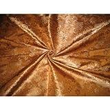 Seide Brokat Stoff Golden Braun Farbe bro160[3] by the